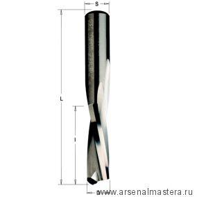 Фреза спиральная монолитная CMT Z2 D=3x12x60 S=8 RH
