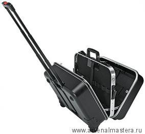 Чемодан для инструментов «BIG Twin-Move» со встроенными роликами и выдвижной ручкой (пустой) KNIPEX 00 21 41 LE