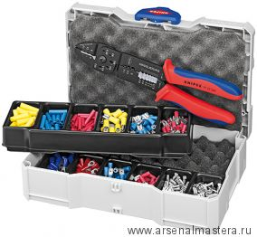 Набор кабельных наконечников для опрессовки с клещами зажимными 240 мм, KNIPEX 97 90 25