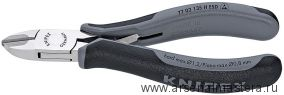 Кусачки боковые для электроники антистатические KNIPEX 77 02 135 H ESD