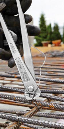 Клещи арматурные вязальные особой мощности с высокой передачей усилия KNIPEX 99 14 300