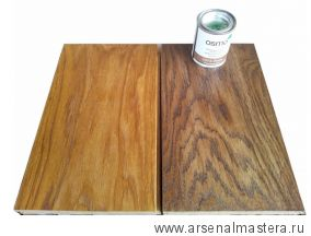 Цветное масло с твердым воском Osmo Hartwachs-Ol Farbig слабо пигментированное 3073 Терра, 0,005 л