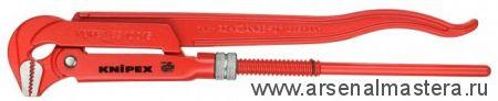 Клещи трубные (КЛЮЧ  ТРУБНЫЙ), губки наклонены под углом 45° KNIPEX 83 20 020