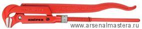 Клещи трубные (КЛЮЧ  ТРУБНЫЙ), губки наклонены под углом 45° KNIPEX 83 20 015
