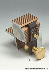 Стусло Veritas Dovetail Guide 1:6 магнитное для выпиливания ласточкиных хвостов 05T02.01