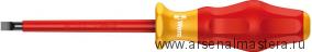 Изолированная шлицевая отвертка Kraftform Comfort WERA 1160 i VDE, 1.2x8.0x175 мм, 031589