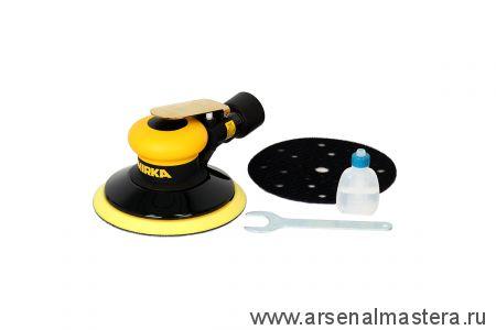 Шлифовальная пневматическая машинка для шлифования на всех типах поверхности MIRKA ROS 650CV 150 мм орбита 5,0 мм
