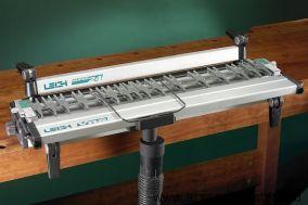 Профессиональная шипорезка Leigh SuperJig24M 600 мм с устройством пылеудаления, поддержки фрезера