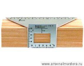Шаблон угловой Shinwa 200х63х73 мм М00003453 Sh 62114