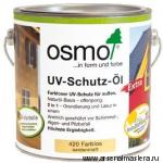 Защитное масло с УФ-фильтром Экстра UV-Schutz-Öl Extra бесцветное шелковисто-матовое арт. 420 25л