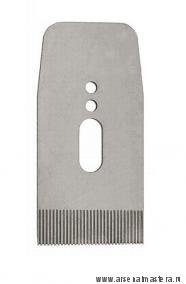 Нож зубчатый для рубанков Veritas LA JackPlane & BevelUp 57 мм (А2) 38 град с насечкой 17 tpi