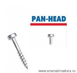 Шурупы с крупным шагом 1 дюйм Pan-Head 100 шт Kreg SPS-C1-100