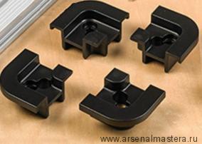 Уголки для монтажной шины Veritas Quad T-Slot Track, 4 штуки