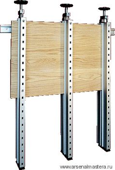 Пресс (клей-пресс) Plano для склейки деревянных щитов, 1250 мм, 3 стойки, 20013