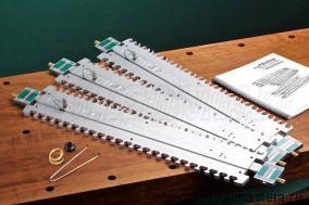 Шаблон Leigh для фигурных шипов Leigh Isoloc КЛЕВЕР и УШКИ для шипорезки Leigh D4R Pro М00010344