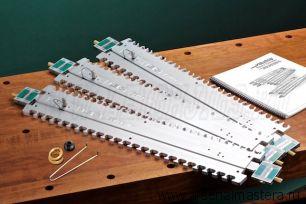 Набор шаблонов Leigh Isoloc для шипорезки Leigh D4R Pro - М00010341