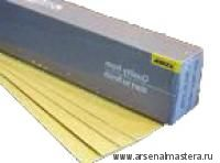 Полоска шлифовальная на бумажной основе липучка Mirka Gold 70х420мм P100 в комплекте 100шт.