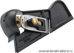 Рубанок кромочный правый/А2 с угловой подошвой Veritas Iron Edge-Trimming Plane 05P03.01 М00003035