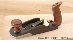 Рубанок Veritas Bevel-Up Smoother Plane, 254 мм / 57мм / А2 / 12 град 05P36.01