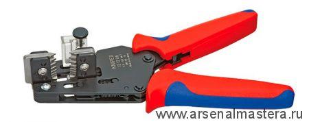 Прецизионные клещи для удаления изоляции с фасонными ножами KNIPEX 12 12 10