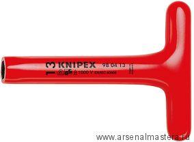 Ключ гаечный торцовый с прочной Т-образной ручкой KNIPEX 98 04 13