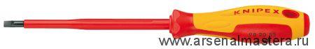 Отвертка для винтов с шлицевой головкой KNIPEX 98 20 65