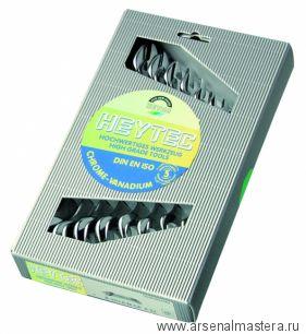 Набор двусторонних рожковых гаечных ключей B 50800-8-M (8 шт.) HEYCO