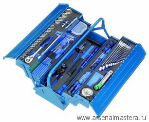 Инструментальный ящик металлический  5 модулей (96 инструментов) HEYCO