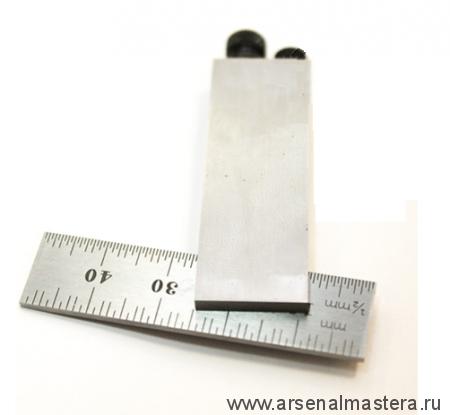 Точный столярный  угольник Starrett 453MA 50 мм с подвижной подошвой с двумя винтами М00008459