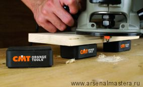 Противоскользящие опоры 75х50х25 мм CMT BBS-001 для установки на верстак в комплекте 4 шт