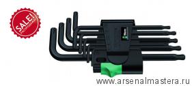 Набор Г-образных ключей, BlackLaser WERA 967 PKL/9 TORX Распродажа!