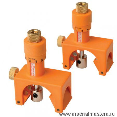 CMT792 Приспособление для точной установки ножей на строгальных головках и фрезах (магнитное) в деревянном кейсе