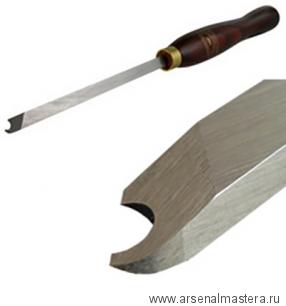 Резец токарный Crown HSS Captive Ring Tool 6мм, рукоять 216мм, для изготовления цельных колец толщиной 4 мм на заготовке М00003812